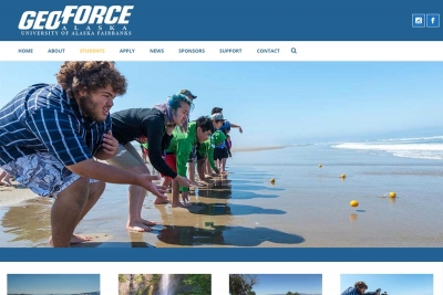 GEOForce - Website made by Web 907