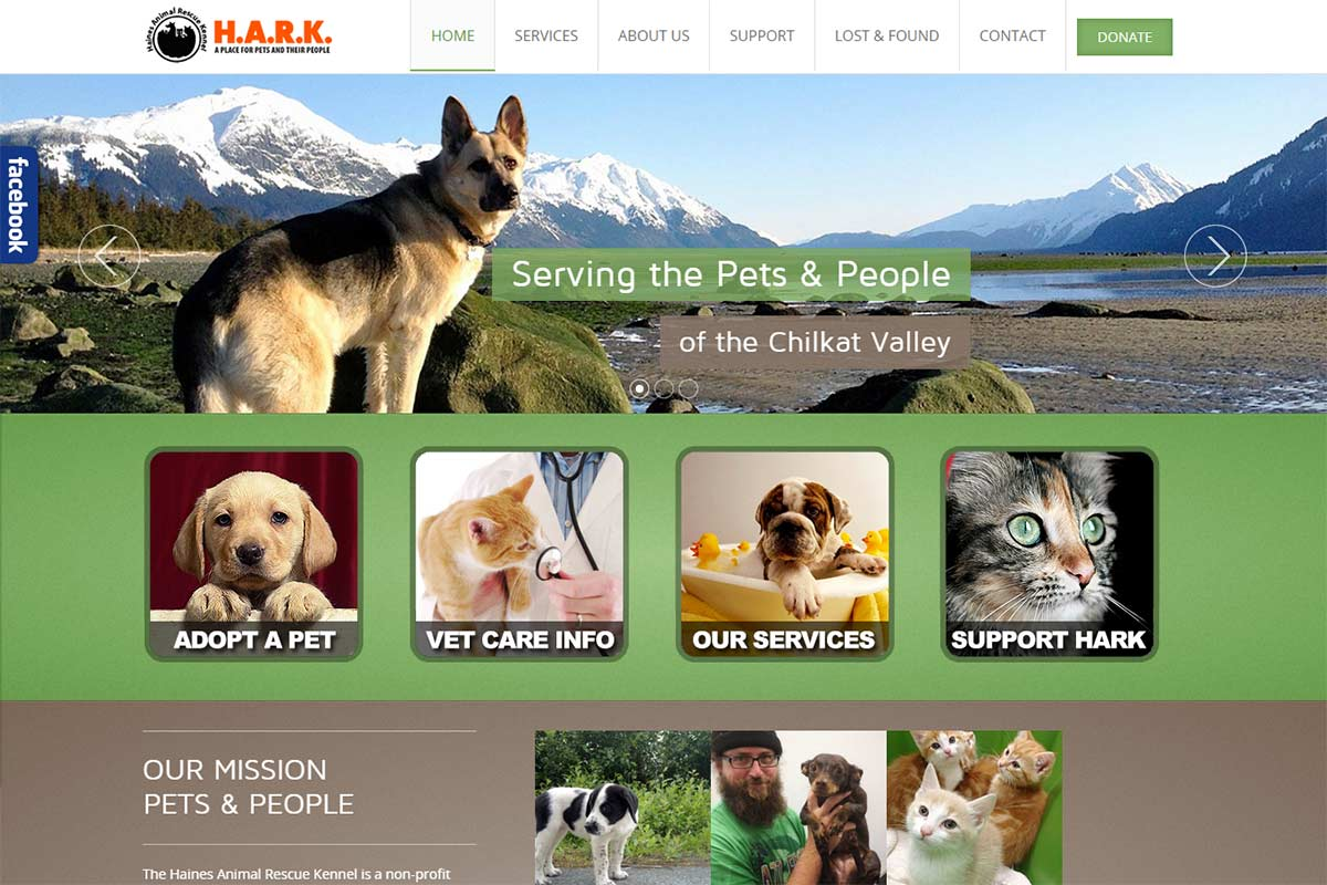 HARK - Website made by Web 907