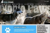 Noble Paws - Website made by Web 907