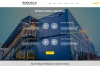 Black Gold Lodging - Website made by Web 907