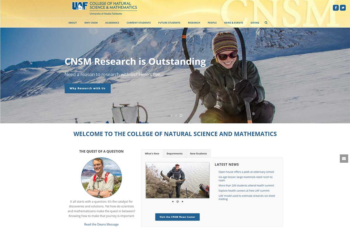 CNSM - Website made by Web 907