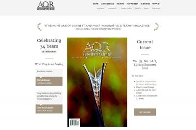 Alaska Quarterly Review - Website made by Web 907