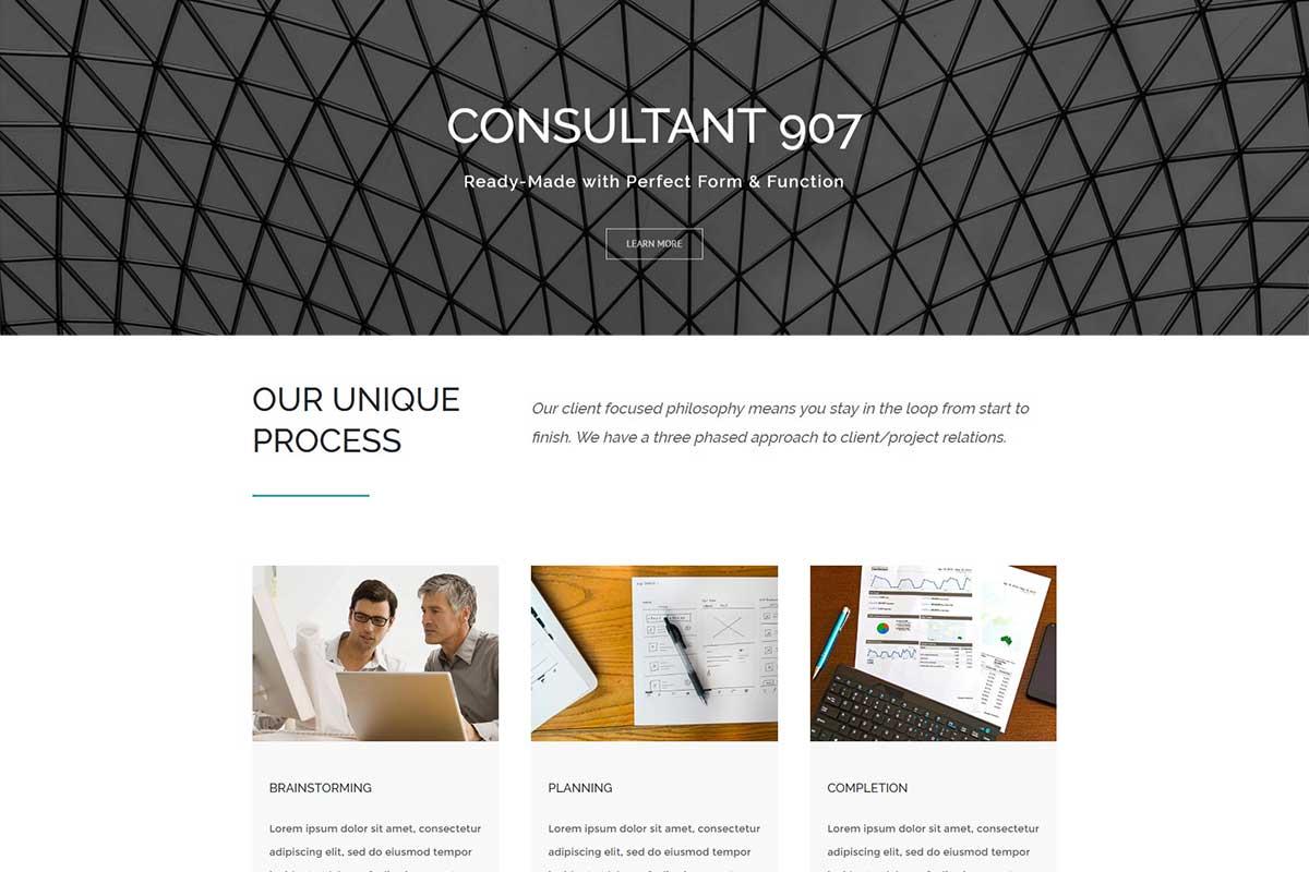 consultant template
