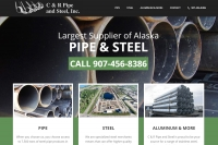 Alaska business website by Web 907