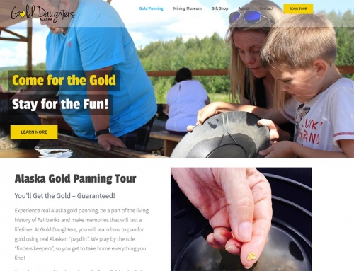 Gold Daughters Gold Panning