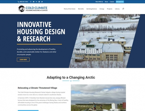 Cold Climate House & Research Center