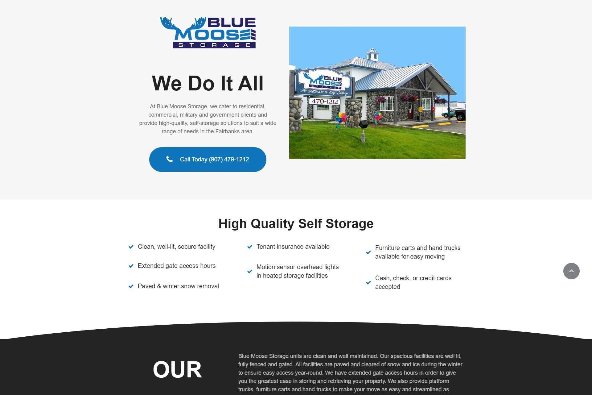 Blue Moose Storage
