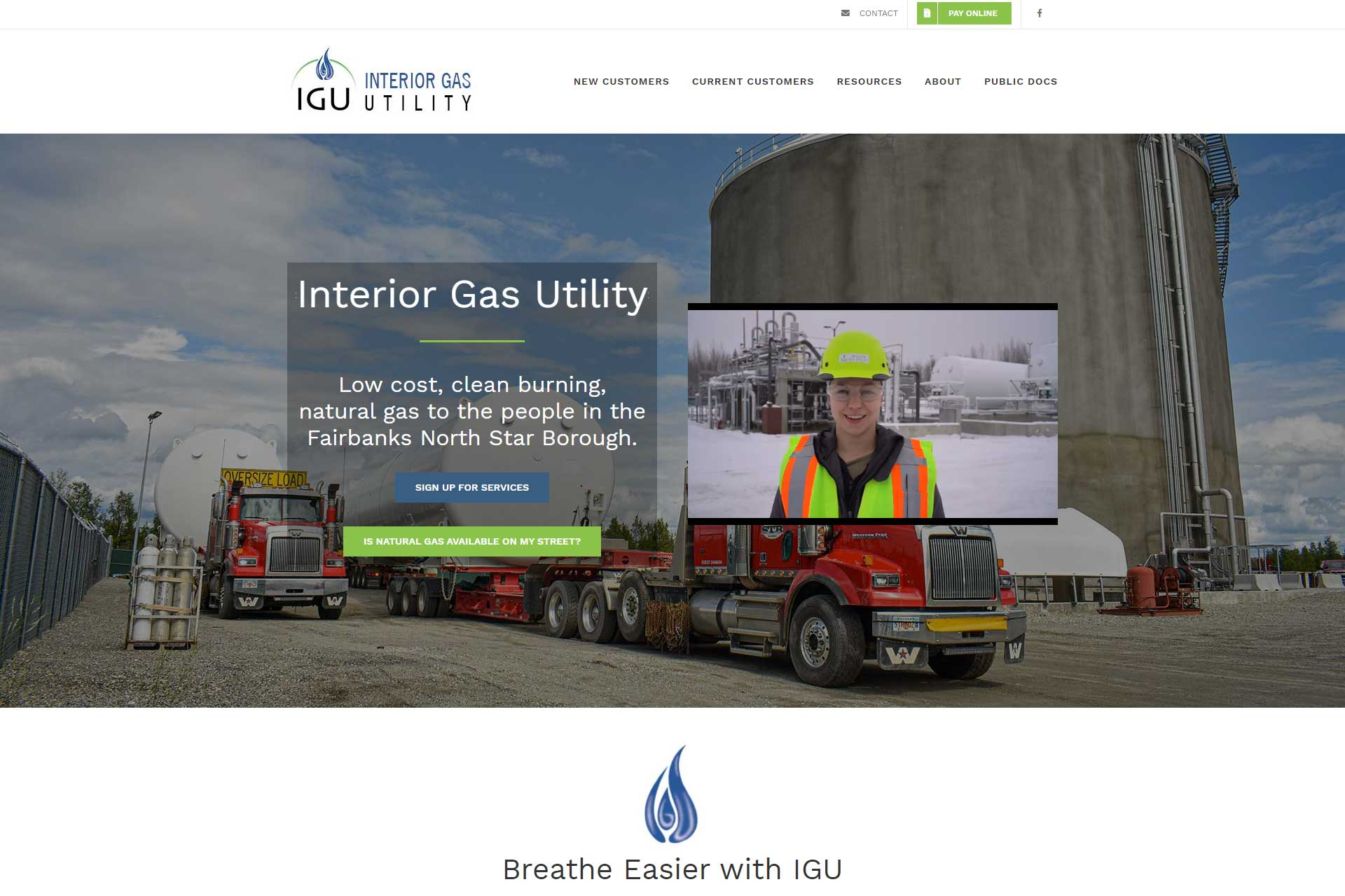 interior Gas